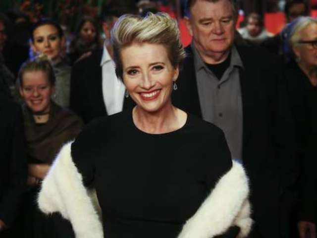 Emma Thompson Slams Reporter Asking Her About Royal Wedding