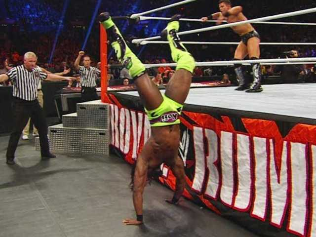 Kofi Kingston Explains Those Crazy Royal Rumble Stunts