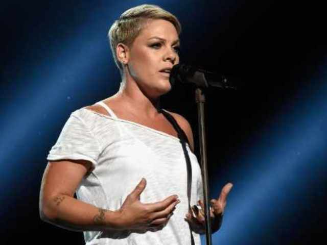 Pink Spends Day With Family as She Recovers from Stomach Virus