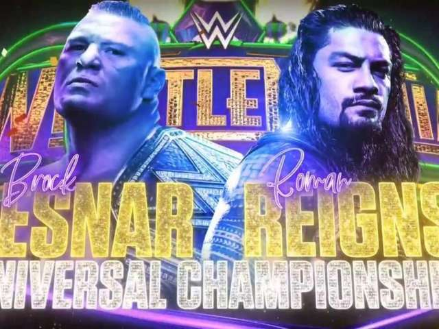 It's Official: Roman Reigns vs. Brock Lesnar at WrestleMania 34