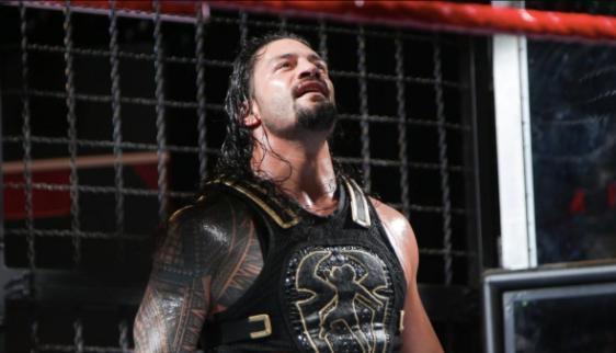 Roman Reigns elimination chamber wrestlemania