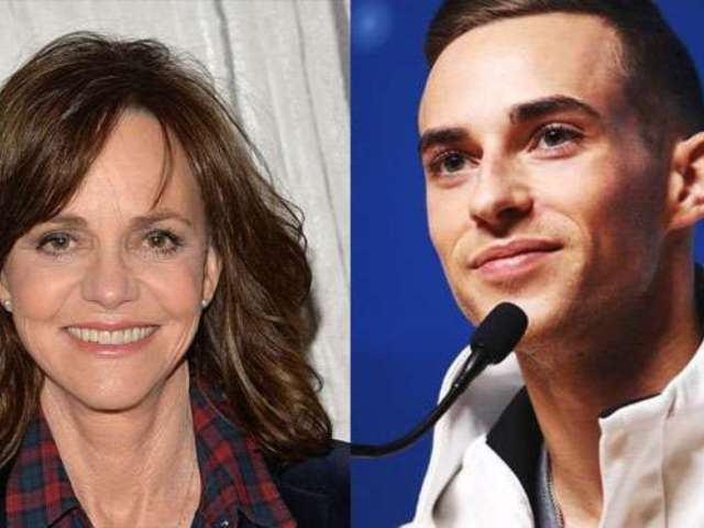 Sally Field Tries to Set up Her Son With Olympian Adam Rippon