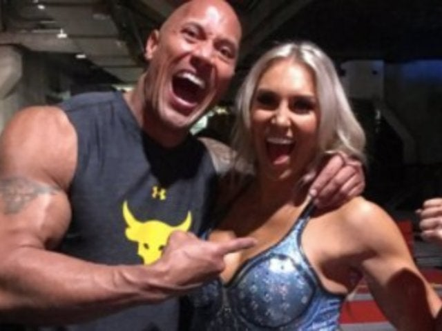 The Rock Applauds Charlotte Flair's Dig at Ronda Rousey