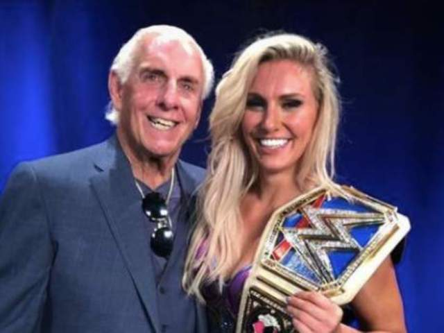 Ric Flair Has the Perfect Match for Ronda Rousey