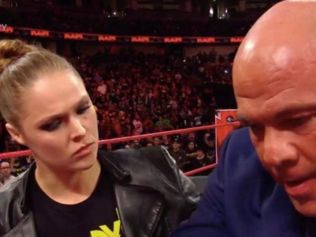 Triple H and Stephanie McMahon Snake out of Another Ronda Rousey Beat Down