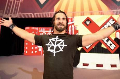 Seth Rollins Roman Reigns WWE WrestleMania