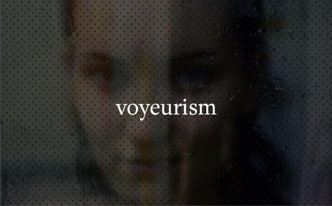 voyeurism