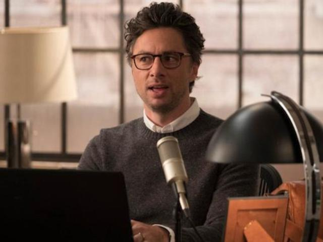 Zach Braff Laments the Cancellation of 'Alex, Inc.' Amid 'Roseanne' Ending