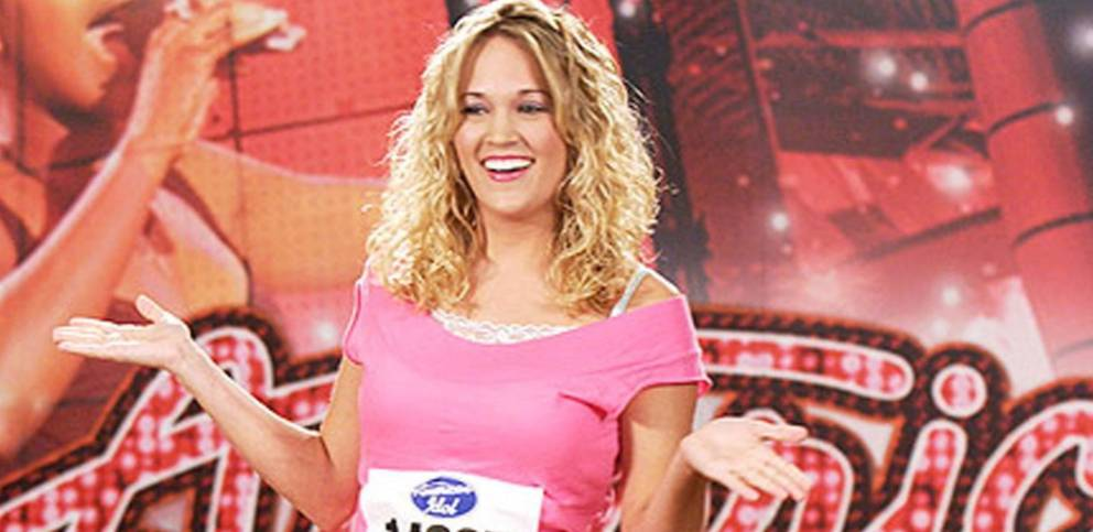 carrie underwood idol audition