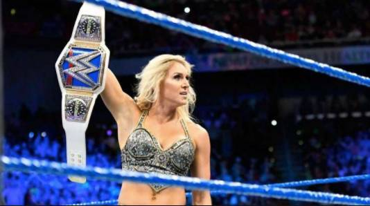 Charlotte Flair Asuka WrestleMania WWE