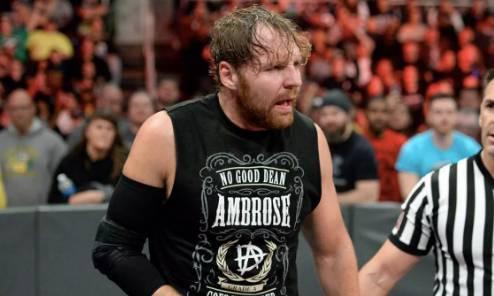 Dean Ambrose Injury Concern WrestleMania