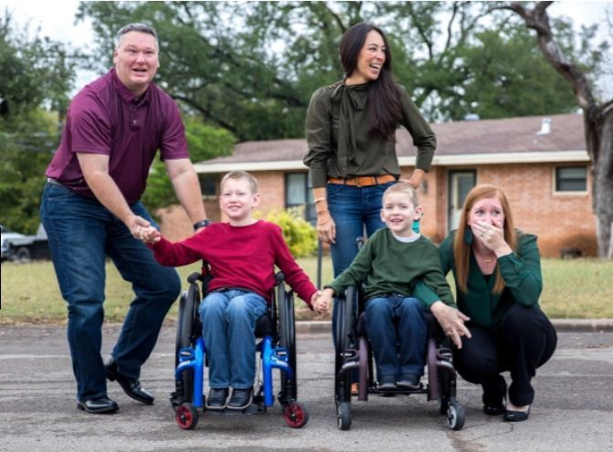 fixer upper family in need