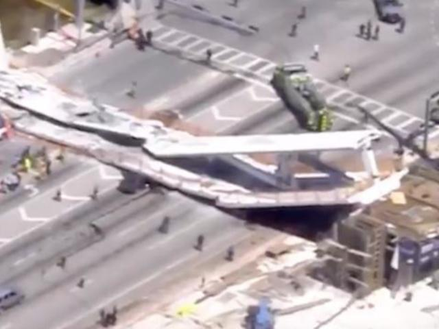 Florida Bridge Collapse Caught on Camera in New Video