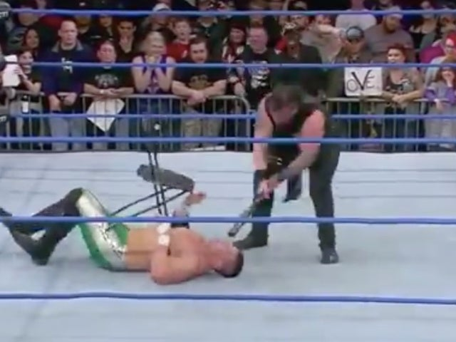 Watch: Impact's Eddie Edwards Gets Face Smashed by Baseball Bat in Horrific Accident