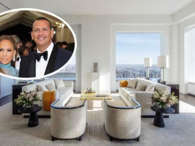 Jennifer Lopez and Alex Rodriguez Selling $17.5 Million NYC Apartment