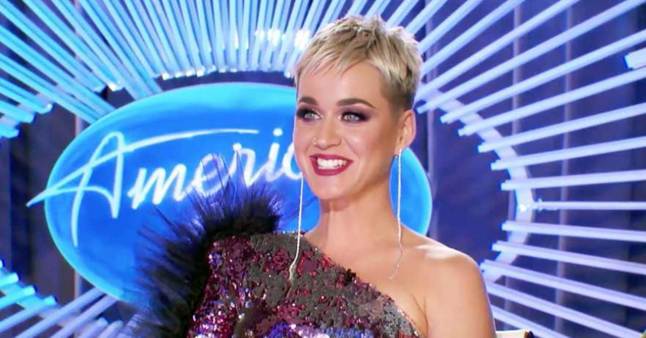 American Idol Judge Katy Perry On Cutting Her Hair Short There S Nothing To Hide Behind