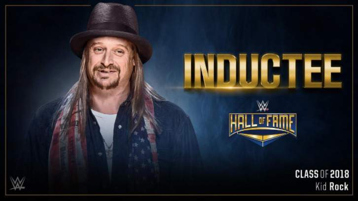 Kid rock wwe hall of fame