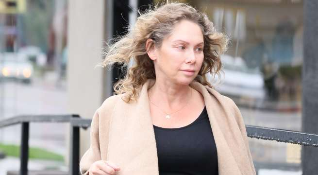 Kym Johnson pregnancy stocking up getty