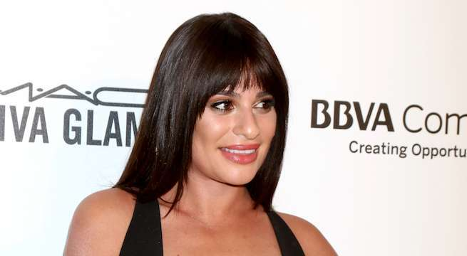 lea-michele-oscars-party_Kathy Hutchins : Shutterstockcom