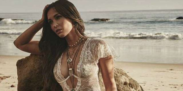 Megan Fox Takes The Bedroom To The Beach In Oceanside