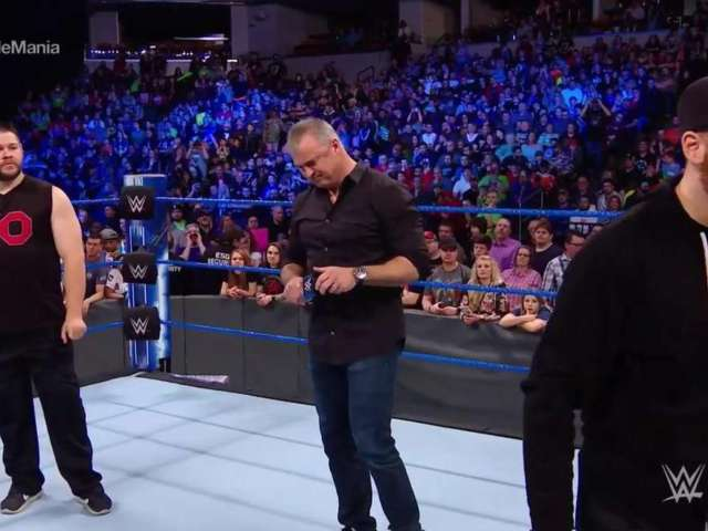 Kevin Owens, Sami Zayn Brutally Attack Shane McMahon on SmackDown Live