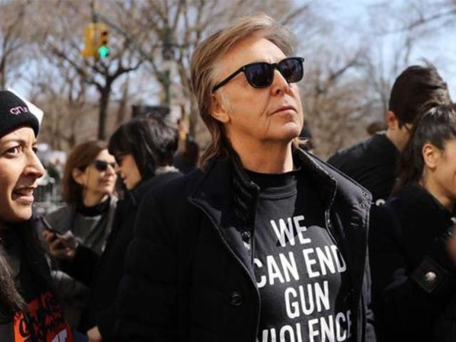 Watch: Paul McCartney Pays Tribute to John Lennon at March for Our Lives Protest