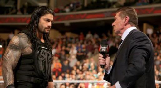 Roman regins steroids wrestlemania strowman wwe