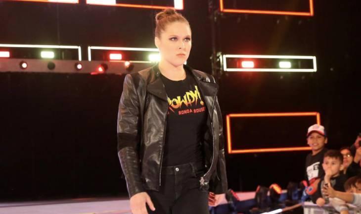 Ronda Rousey RAw WrestleMania WWE