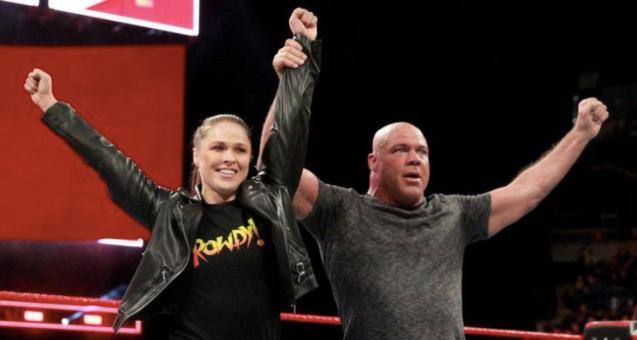 Ronda Rousey Wrestlemania main event wwe