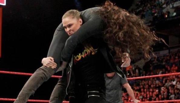Ronda Rousey WWE Move