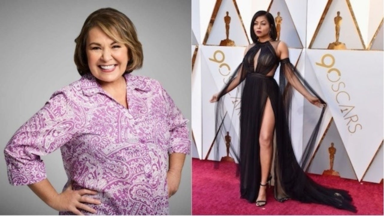 Roseanne Barr Comments On Taraji P Hensons Red Carpet Look In Confusing Tweet