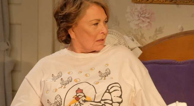 roseanne chicken shirt new series