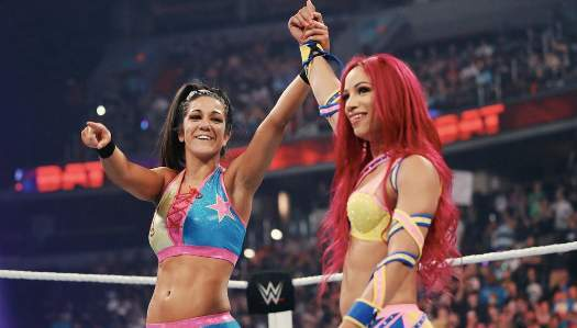 Sasha Banks Bayley WWE WrestleMania 34