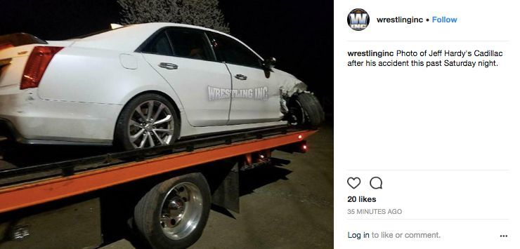 See Photos From Jeff Hardys Dwi Incident