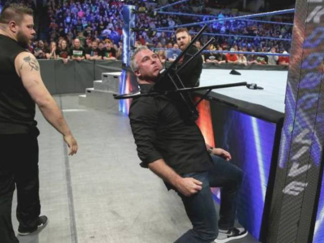 Shane McMahon Suffering from Slew of Injuries After SmackDown Clobbering
