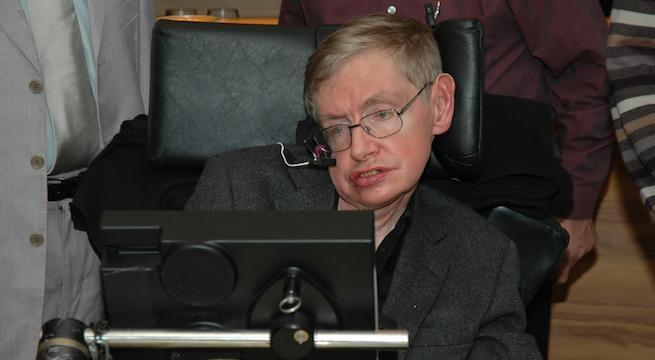 stephen-hawking_The World in HDR : Shutterstockcom