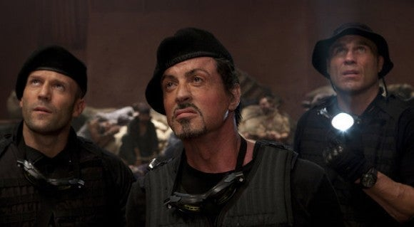 Sylvester Stallone - Jason Statham - Randy Couture - The Expendables 2 - IMDB
