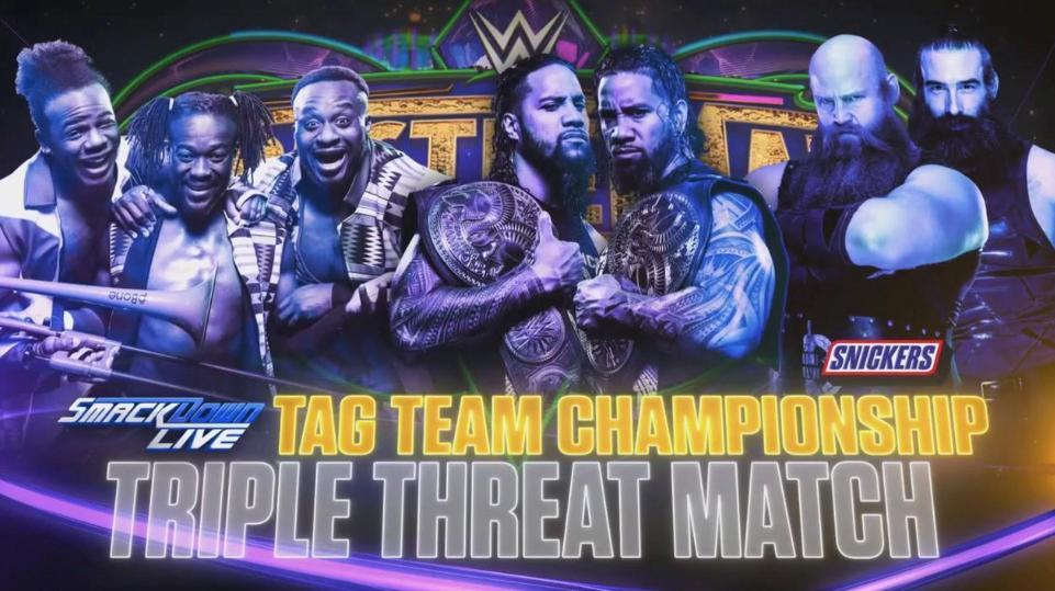 TLc Match WrestleMania New Day