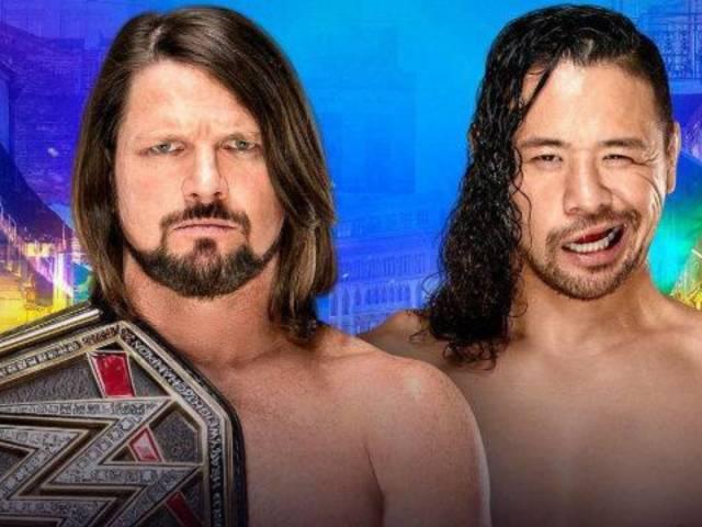 WrestleMania 34: AJ Styles Retains WWE Championship