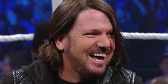 AJ Styles Gets an Unexpected Visit Backstage at SmackDown Live