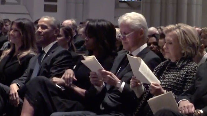 barbara-bush-funeral-melania-trump-barack-obama-bill-clinton-hillary