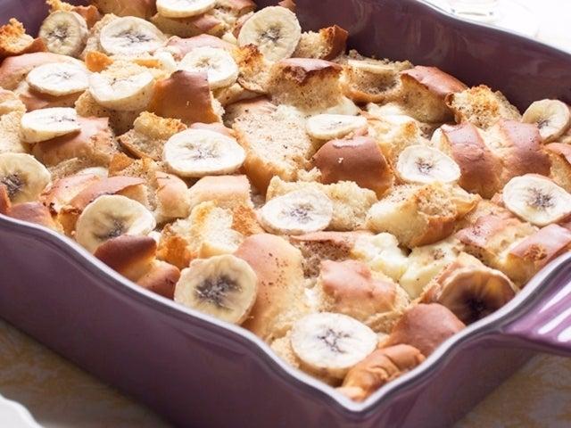 Recipe: Skinny Banana French Toast Bake