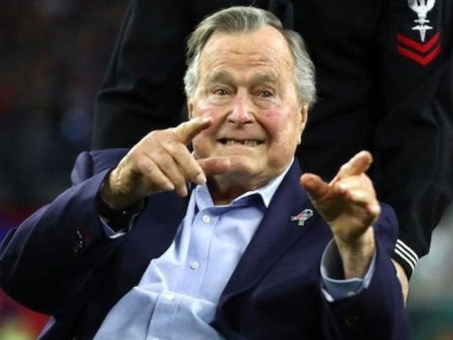 Former President George H.W. Bush Breaks Silence Following Hospitalization