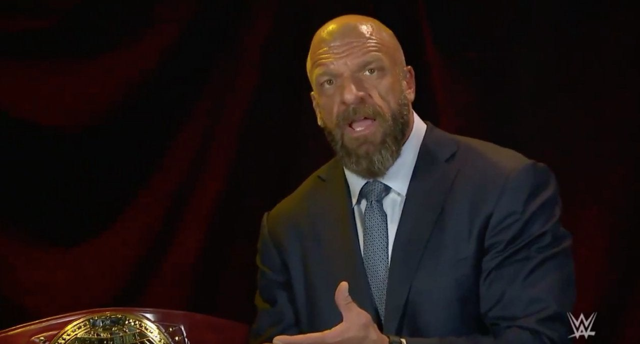 North American Championship NXT Triple H
