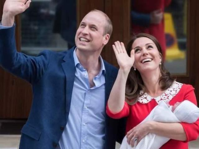 Royal Family Reveals Prince Louis' Godparents