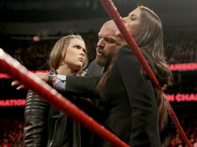 Big Ronda Rousey and Kurt Angle Segment Announced for WWE RAW