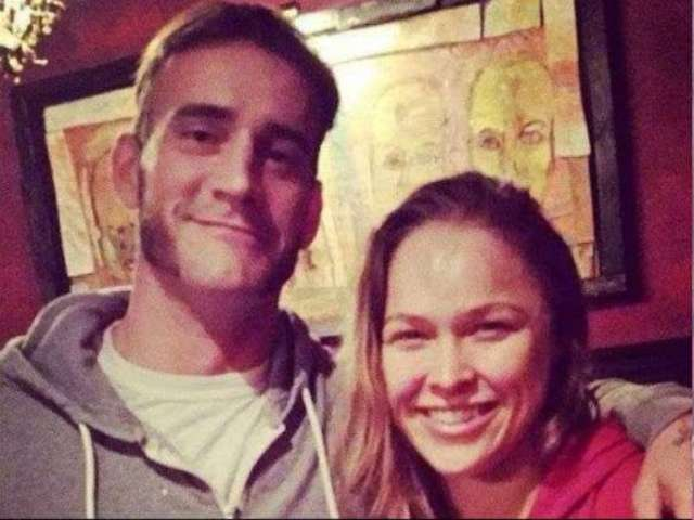 Ronda Rousey Wants to Work with CM Punk in WWE