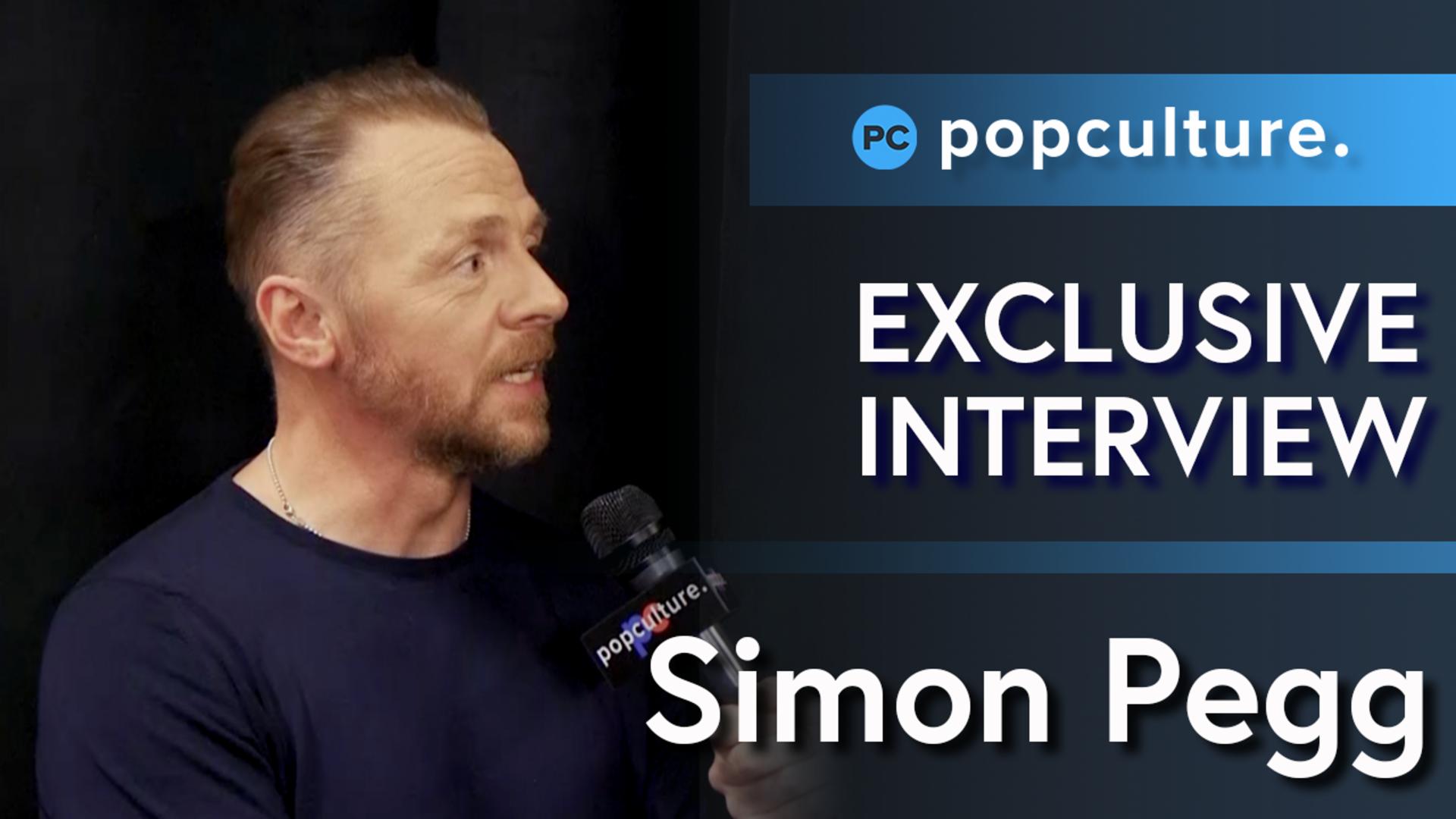 Simon Pegg Talks Mission: Impossible & Star Trek screen capture