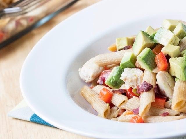 Recipe: Skinny Chicken BaCado Casserole