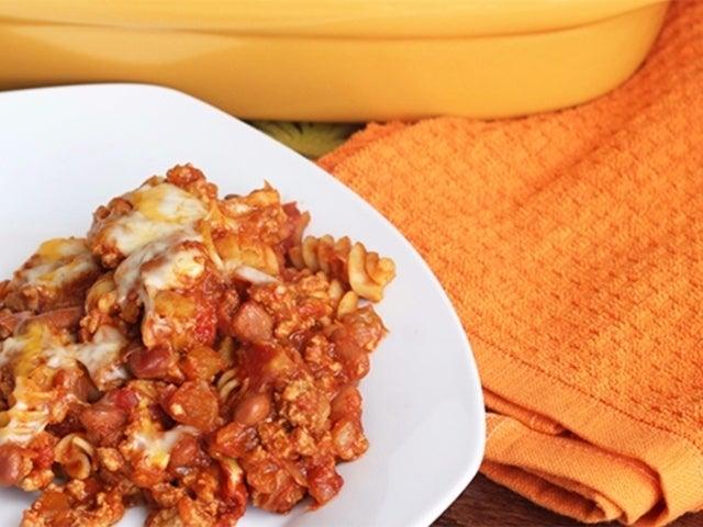 Recipe: Skinny Chili Mac Casserole